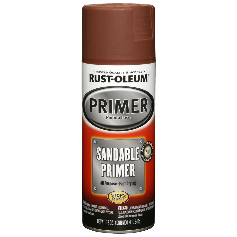 12 oz. Red Sandable Primer Spray (6-Pack)
