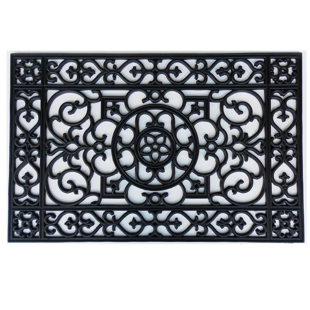 Merveilleux Home U0026 More Utopia 24 In. X 36 In. Rubber Door Mat