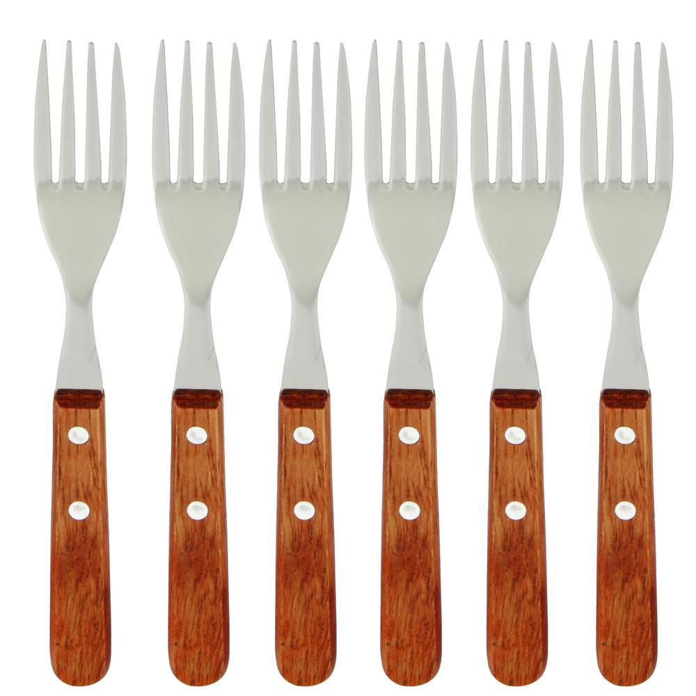 Libson Stainless Steel Dinner Fork Set (6-Pack)
