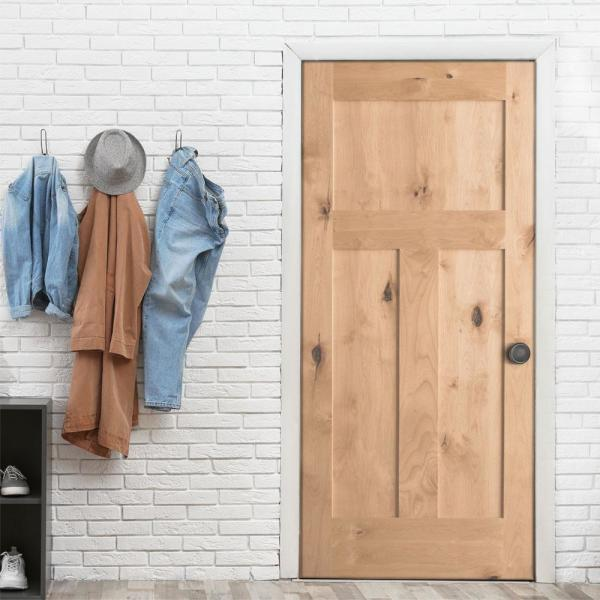 Reviews For Krosswood Doors 28 In X 96 In Shaker 1 Panel Primed Solid Hybrid Core Mdf Right Hand Single Prehung Interior Door Kw Sh111 2480 Rh The Home Depot