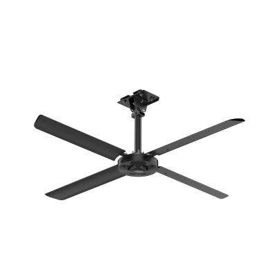 XP 8 ft. 110-Volt Single Phase HVLS Indoor Anodized Black Ceiling Fan with Wall Control