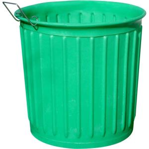 Chem Tainer Industries 60 Gal Green Round Carry Barrel