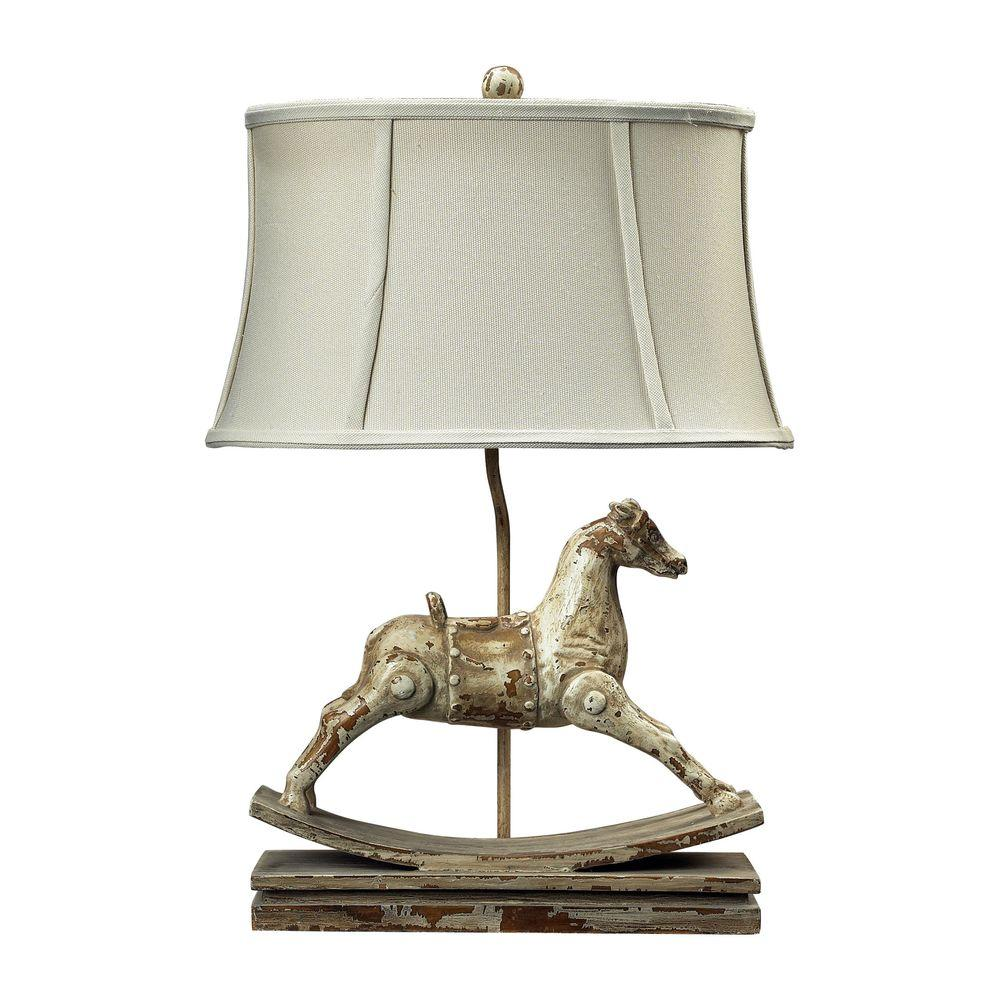 Titan lighting carnavale 24 in clancey court rocking horse table titan lighting carnavale 24 in clancey court rocking horse table lamp aloadofball Image collections
