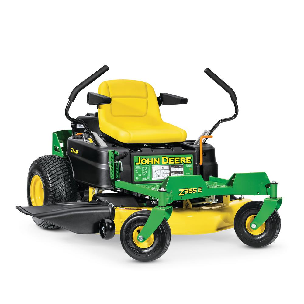 John Deere Zero Turn Mowers : John deere z e in hp dual hydrostatic gas zero