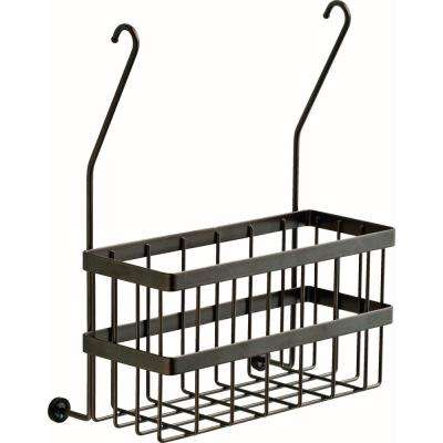 Over-the-Towel Bar Basket in SpotShield Venetian Bronze