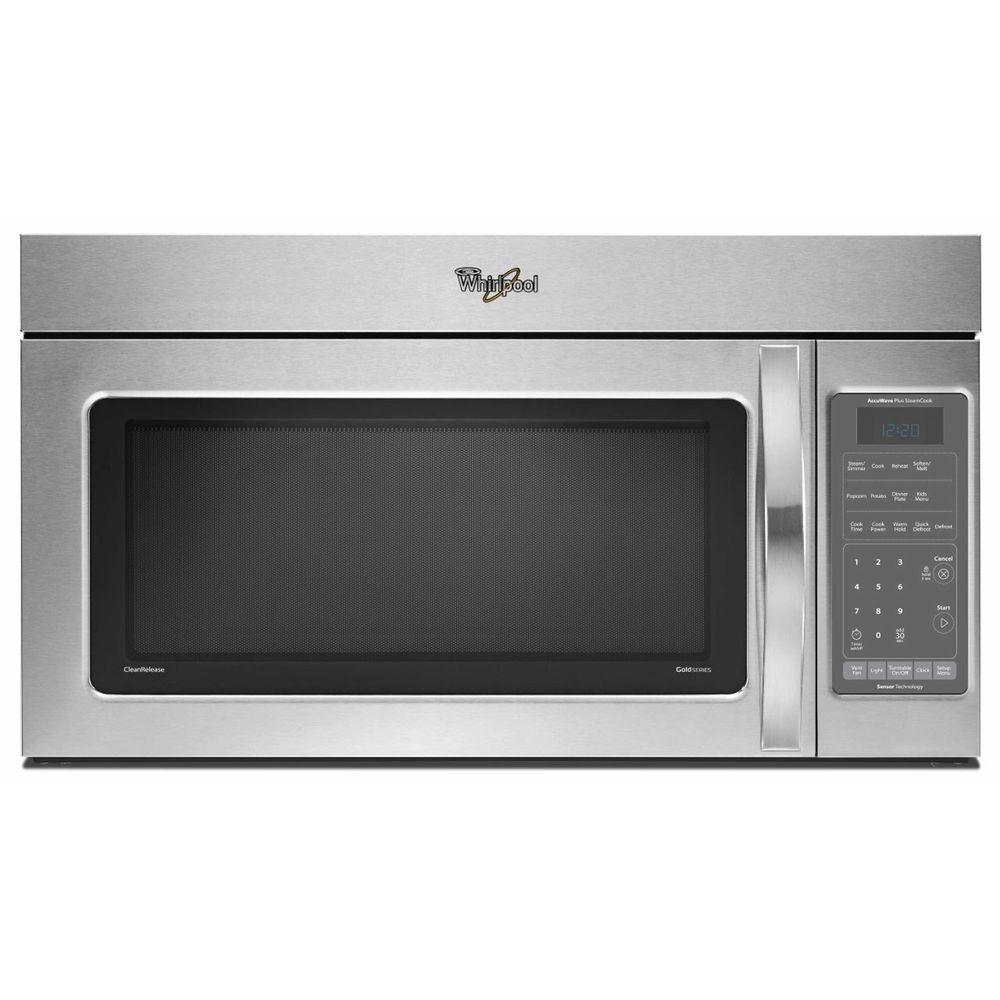 Whirlpool Gold 2.0 cu. ft. Over the Range Microwave in Stainless Steel, with Sensor Cooking-DISCONTINUED