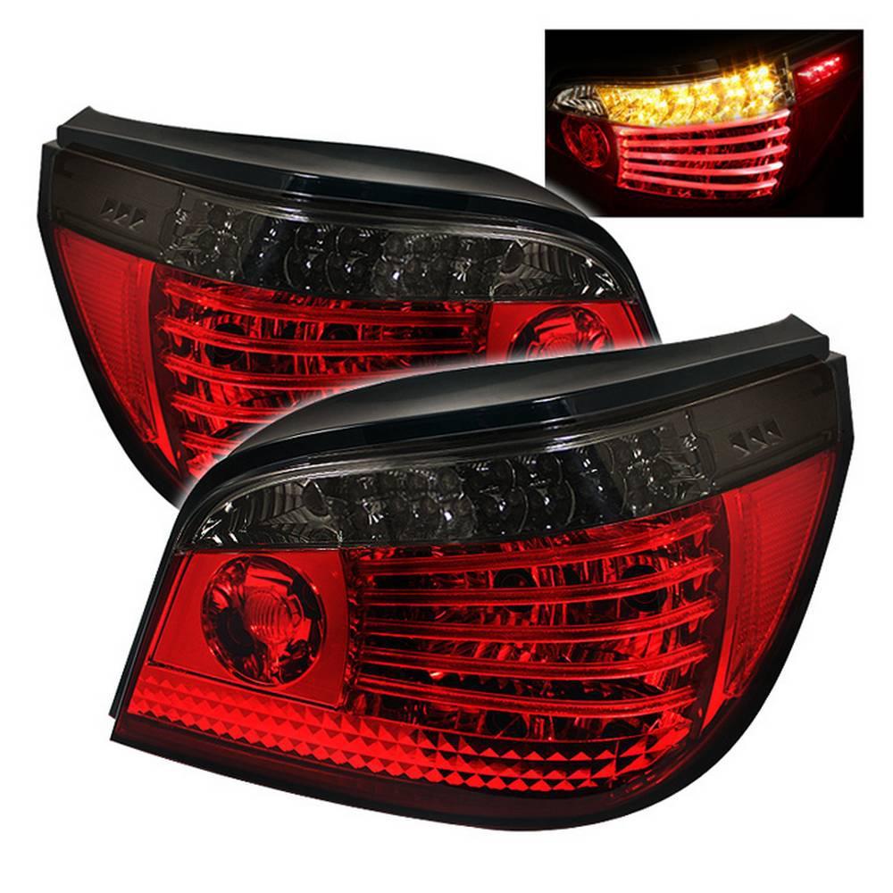 Na Miata Garage Vary Tail Lights: Spyder Auto BMW E60 5-Series 04-07 LED Tail Lights