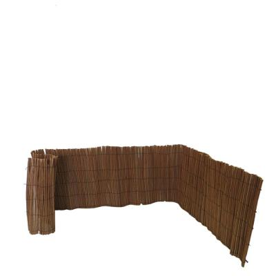 24 in. H x 96 in. L Peeled Willow Border Fence