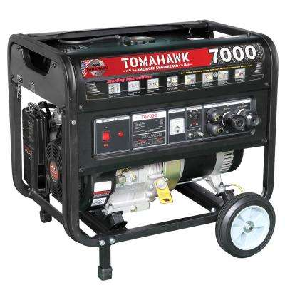 TG7000 5000-Watt Gas Powered Recoil Start Portable Generator with 13 HP Engine