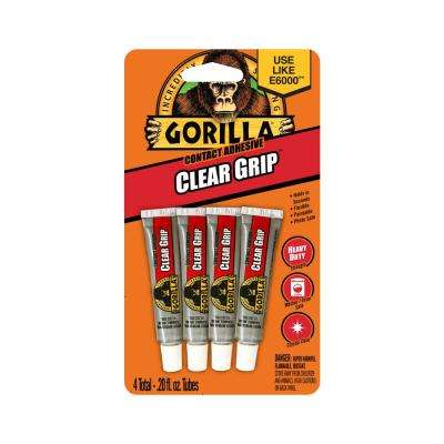 0.2 oz. Clear Grip Contact Adhesive Minis 4 Tubes (6-Pack)