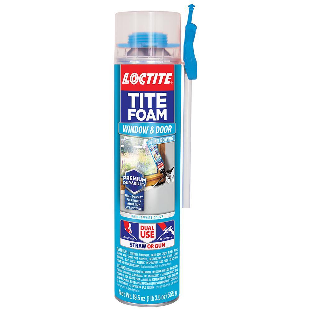 Tite Foam Dual Use Pro Can Window and Door 19.6 oz. Spray Foam Sealant