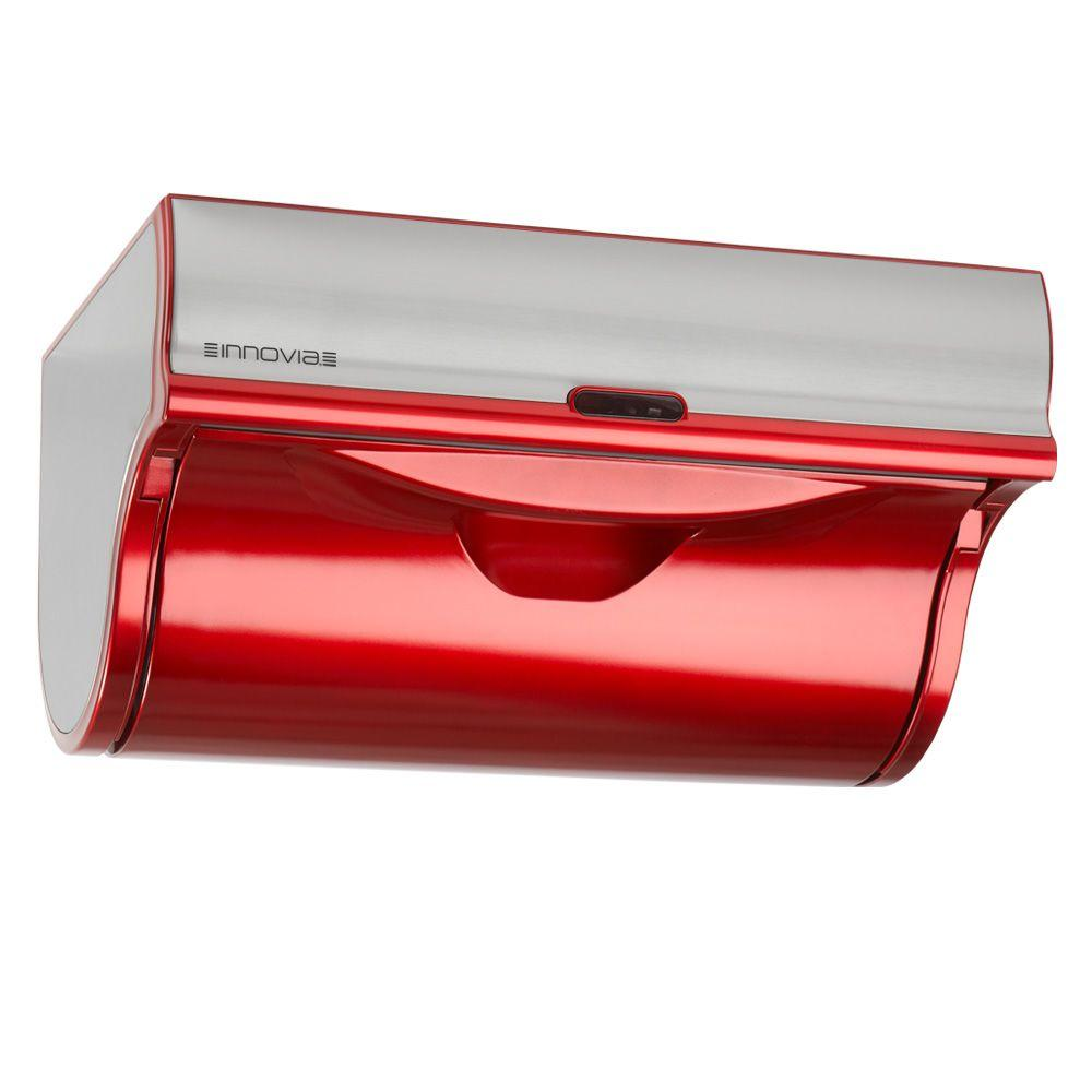 innovia automatic paper towel dispenser red wb2 159r the home depot. Black Bedroom Furniture Sets. Home Design Ideas