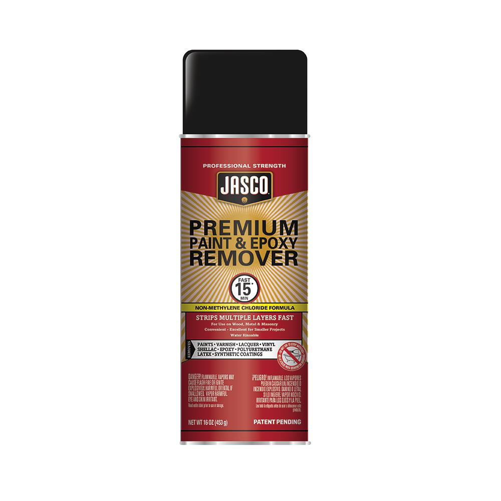 Jasco 16 Oz Premium Paint And Epoxy Remover Aerosol Ejpr502 The