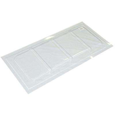 35-1/2 in. x 16-1/2 in. Polyethylene Rectangular Basement Window Cover
