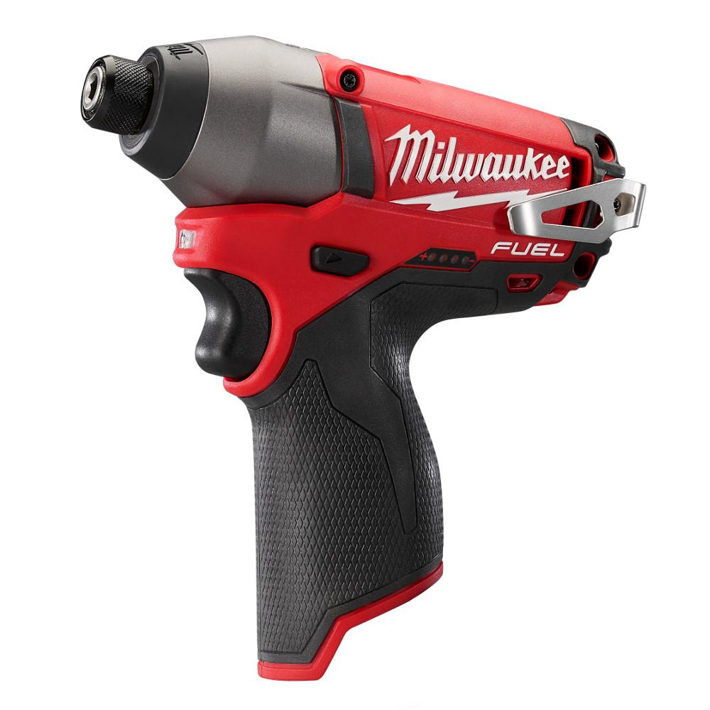 Milwaukee M12 FUEL 12-Volt Cordless Lithium-Ion Brushless 1/4 in. Hex Impact Driver (Tool-Only)