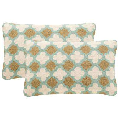 Carna Chainstitch Pillow (2-Pack)