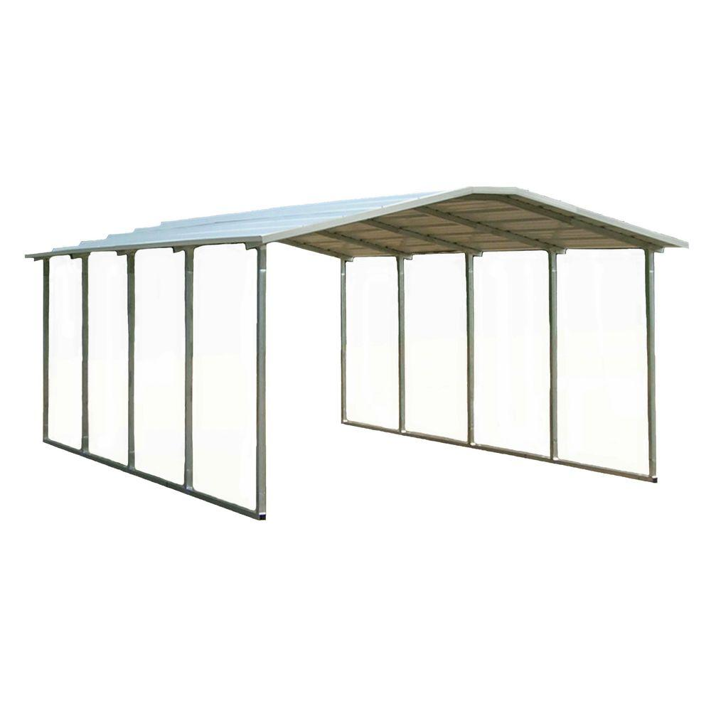 VersaTube 12 ft. x 20 ft. x 6 ft. Steel Shelter-DISCONTINUED