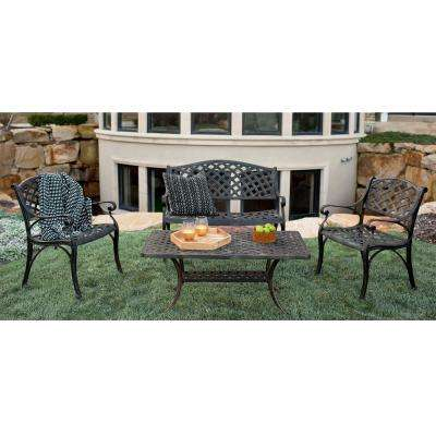 4-Piece Metal Patio Seating Set