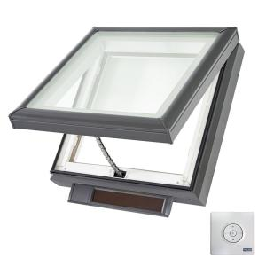 Velux 22 1 2 In X 22 1 2 In Solar Powered Fresh Air