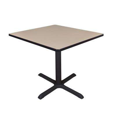 Cain Beige Square 36 in. Breakroom Table