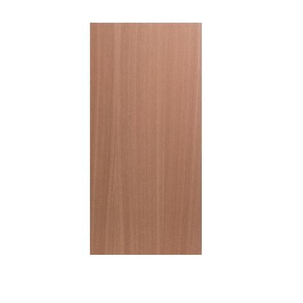 Greenwood 30 in x 80 in smooth flush hardwood solid core for Flush solid core wood interior doors