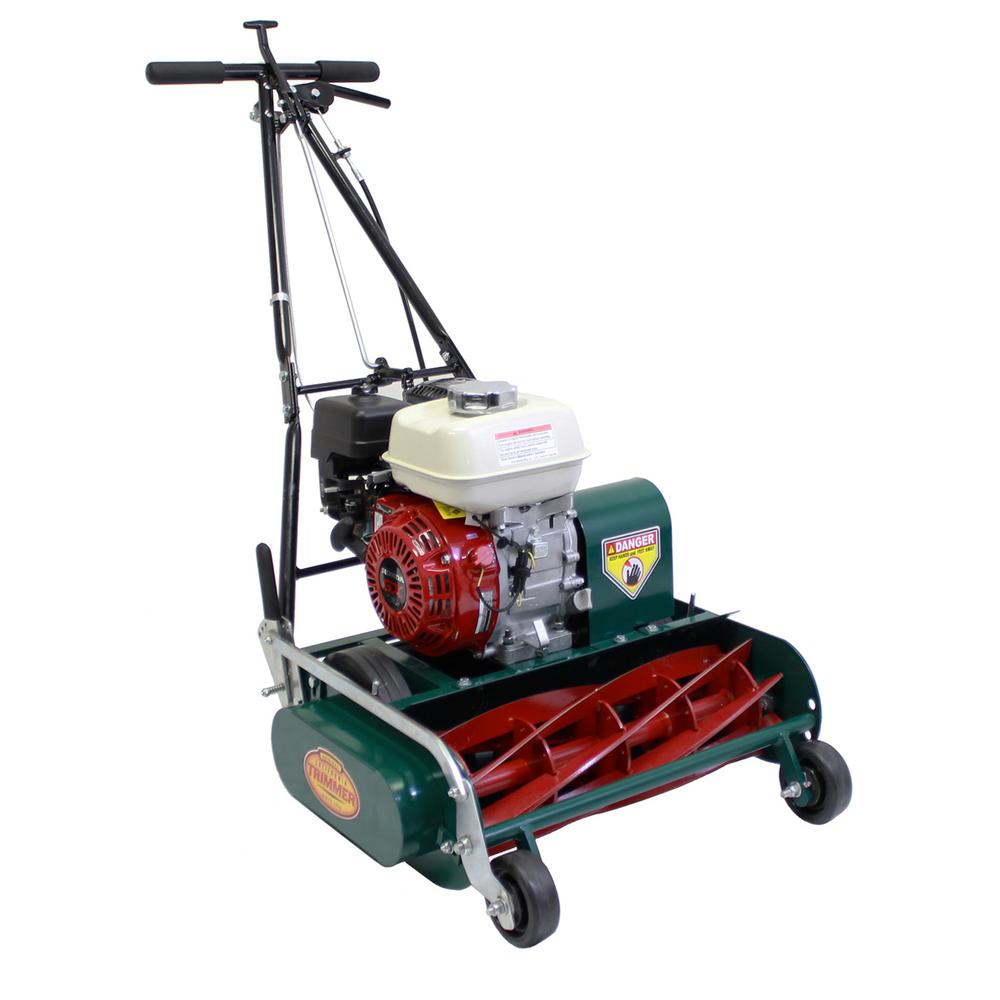 Classic High Cut 20 in. 7-Blade Honda Gas Walk Behind Self-Propelled