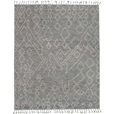 Tangier Grey 8 ft. x 10 ft. Indoor Area Rug