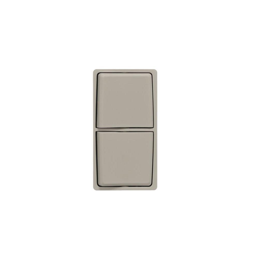 Leviton Renu Wood Smoke Combo Switch Color Change Kit-DISCONTINUED