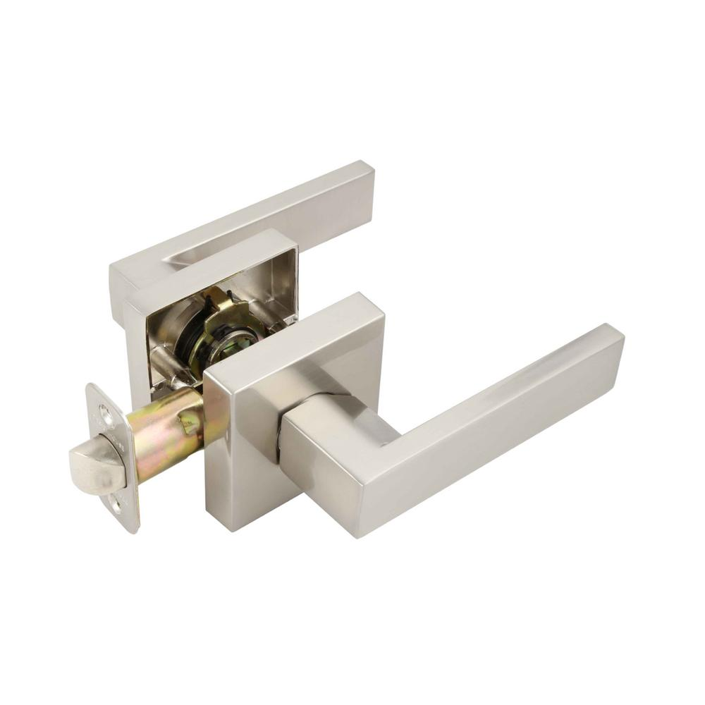 Karsen Satin Nickel Passage Hall/Closet Door Lever