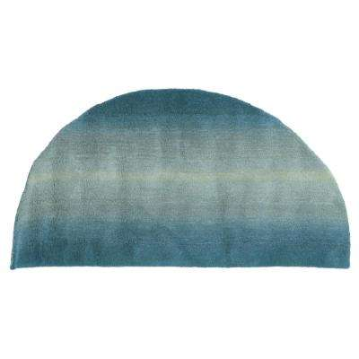 Semicircle Accent Rug
