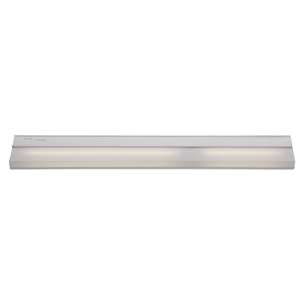 Signature 33 in. White Under Cabinet Light with White Opal Shade