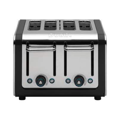 Design Series 4-Slice Stainless Steel Toaster with Crumb Tray