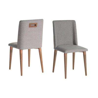 Tampa 2-Piece Grey Dining Chair