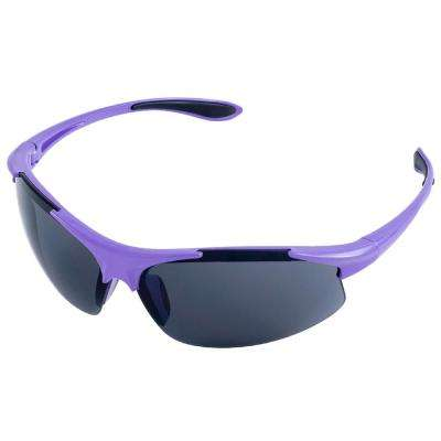 Ella Ladies Eye Protection, Purple Frame/Gray Lens