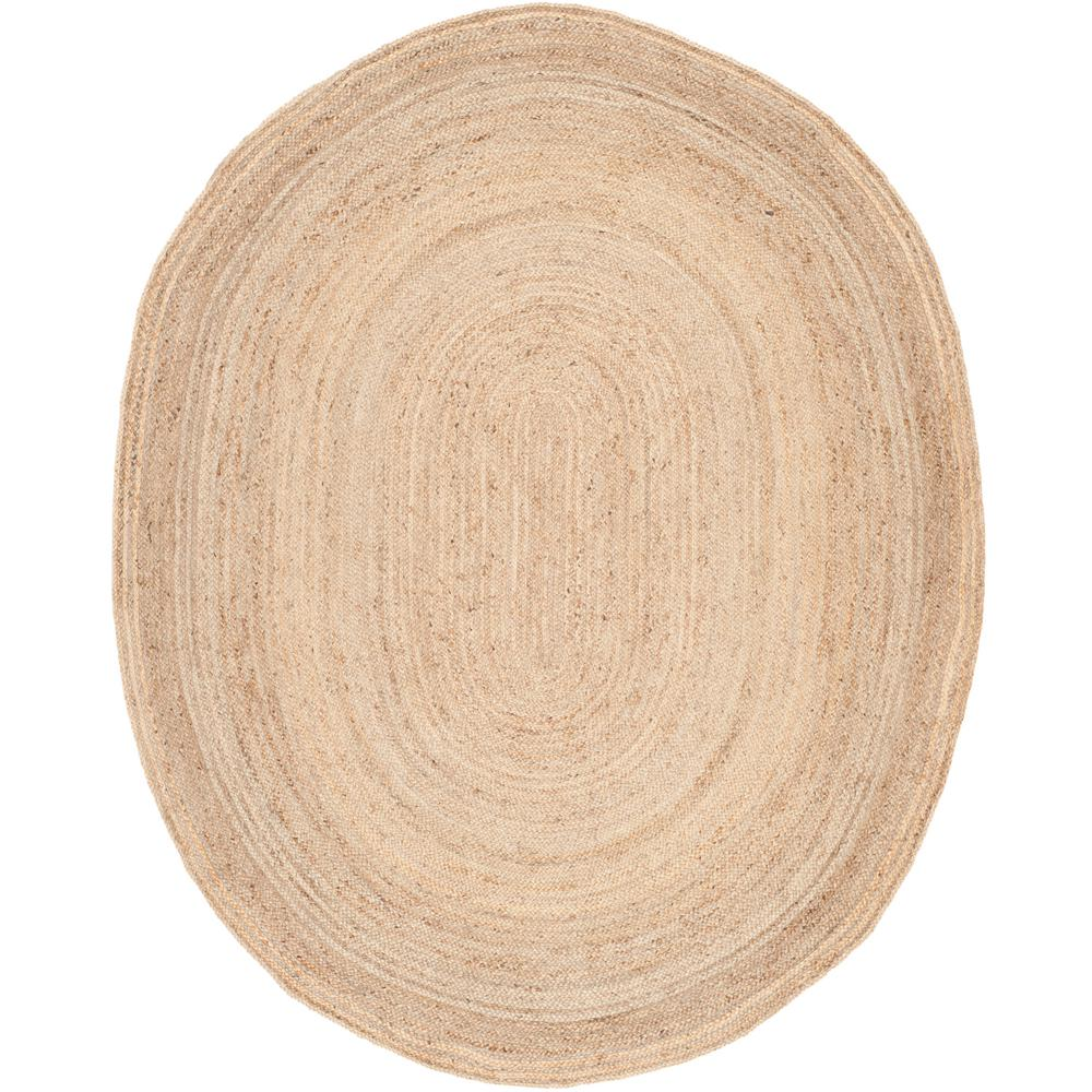 Cape Cod Natural 8 ft. x 10 ft. Oval Area Rug