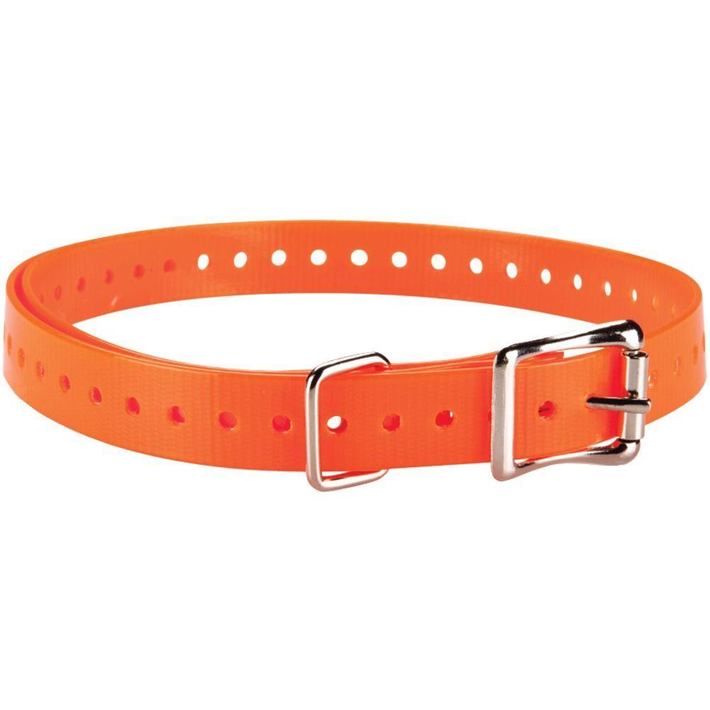 Delta Dog Collar Strap - Orange