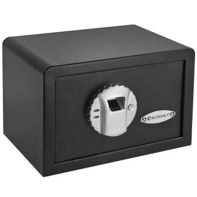 0.28 cu. ft. Compact Safe with Biometric Lock, Black Matte