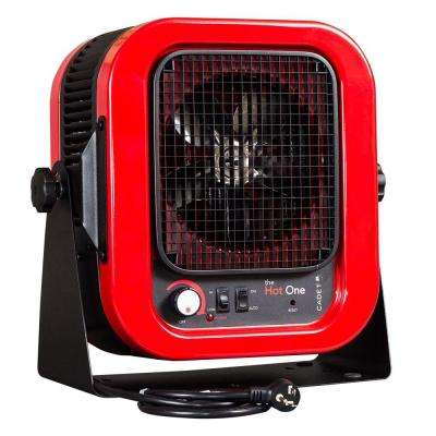 The Hot One 4000-Watt 240-Volt Electric Garage Portable Heater