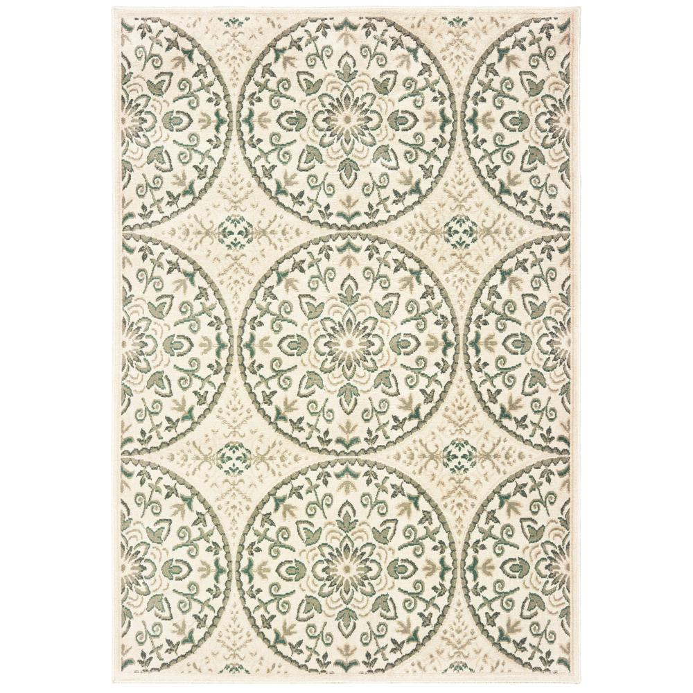 United Weavers Miami Arcadia Canvas 1 Ft 11 In X 7 Ft 4 In Area - The-elegance-of-the-arcadia