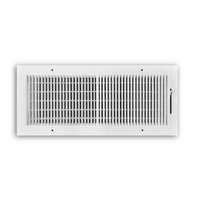 16 in. x 6 in. 2-Way 1/3 in. Fin Spaced Wall/Ceiling Register