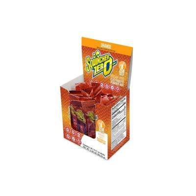 Zero Sugar Qwik Stik Single Serve 0.11 oz. Orange Electrolyte Drink Mix Powder (120-Stiks per Case)