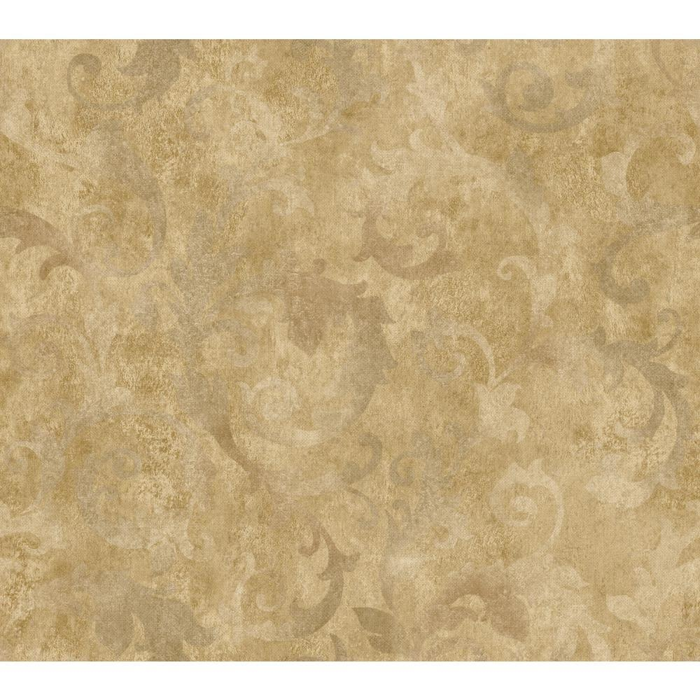 YORK Dimensional Effects Bianca Wallpaper, Gold/Brown/Sil...