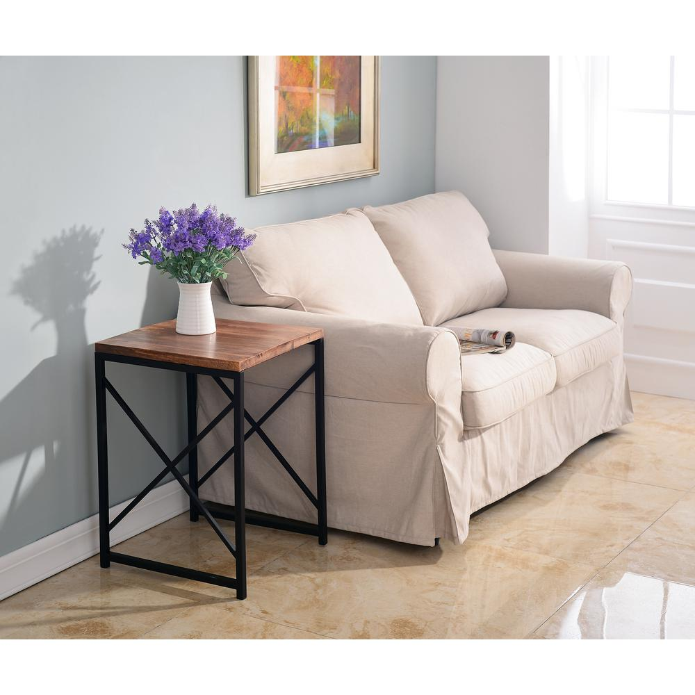 Plank Light Natural Side Table