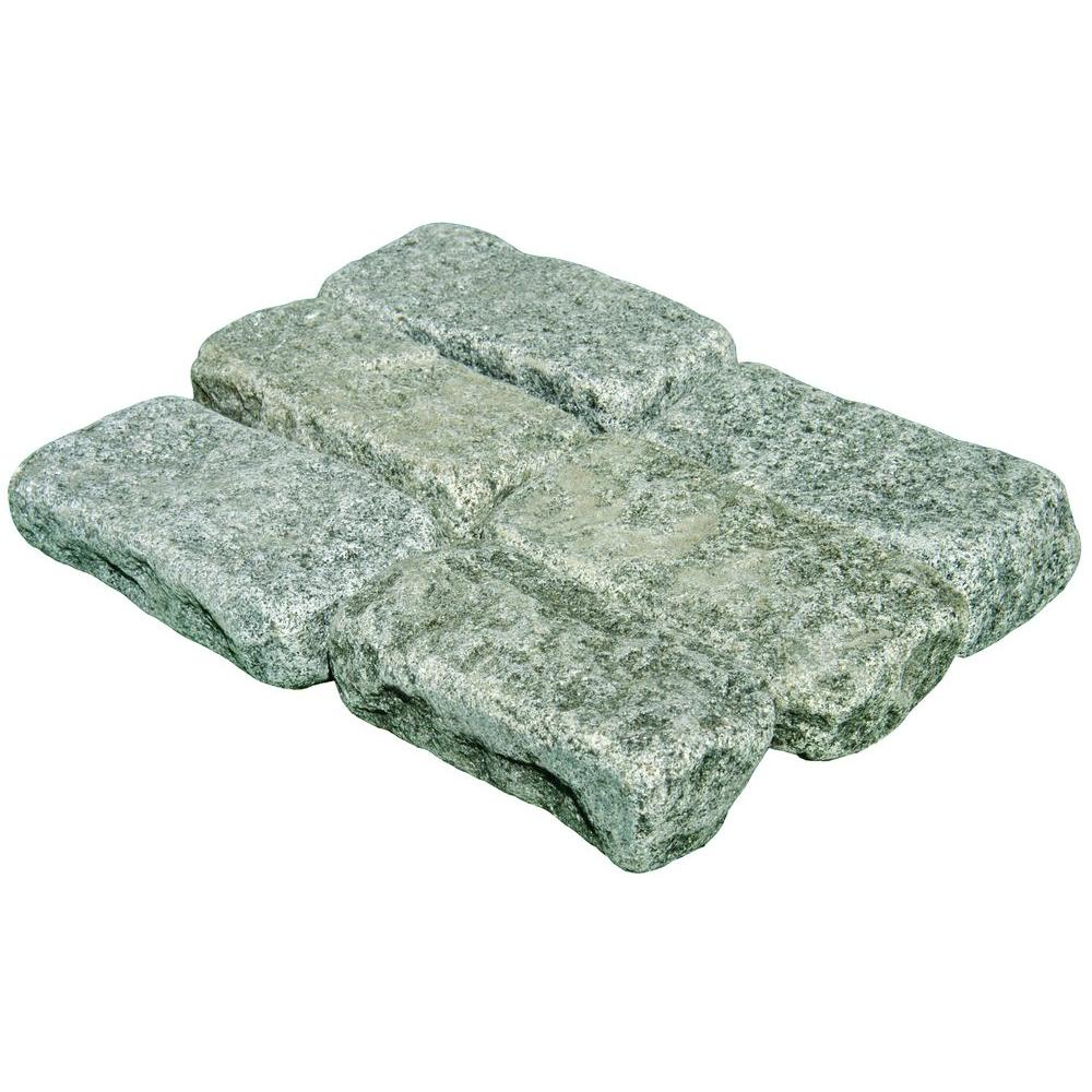 MS International Impala 4 in. x 8 in. Tumbled Granite Cobbles (450 Pieces / Pallet)-DISCONTINUED