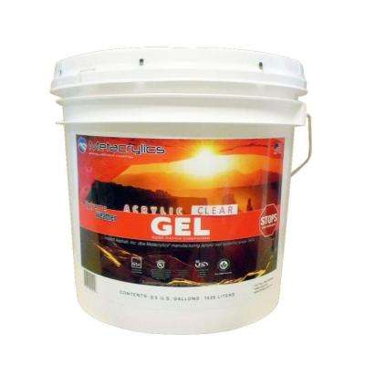 3.5-gal. Clear Acrylic Gel Roof Patch