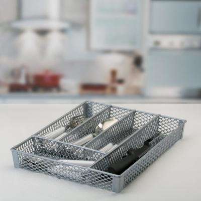Small Grey Cutlery Tray