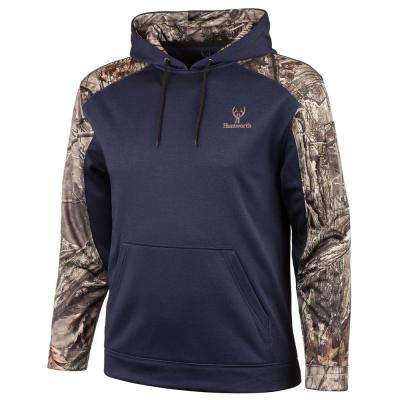 Huntworth Men's Large Heather Navy / Hidd'n Hoodie
