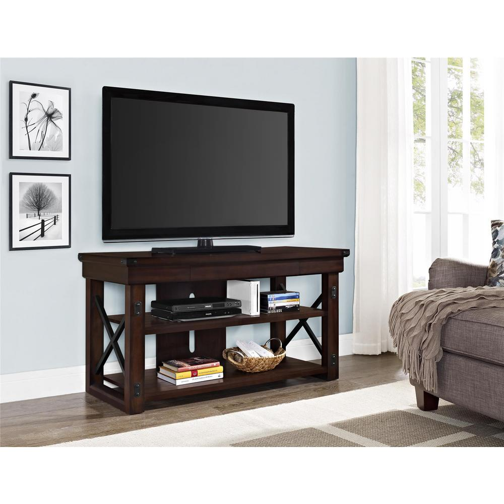Wildwood Mahogany Storage Entertainment Center