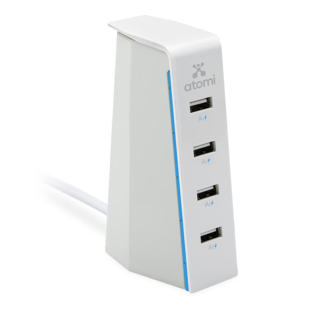 Charge Stand 30-Watt 4-Port USB Desktop Charger