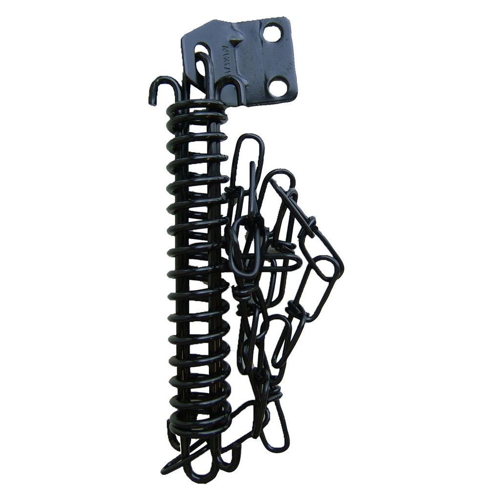 IDEAL Security Black Storm Door Chain